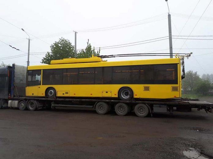 Коммунальный автопарк Славянска в скором времени пополнится тремя новыми троллейбусами