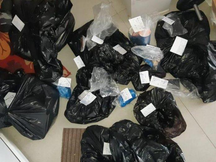 В Доброполье в ходе санкционированного обыска квартиры было обнаружено 150 кг наркотиков