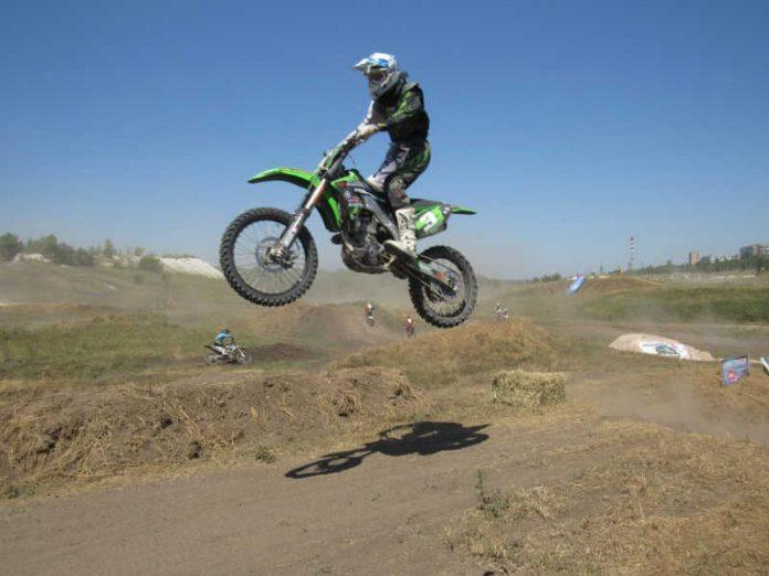 В Краматорске прошел открытый чемпионат по мотокрассу