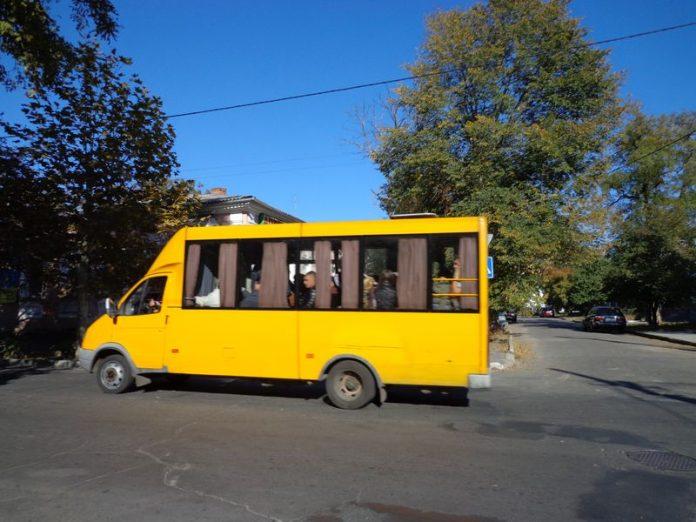 В Горловке движение маршрута № 8 было изменено