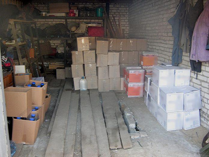 В Донецкой области правоохранителями было изъято шесть тонн контрафактного алкоголя