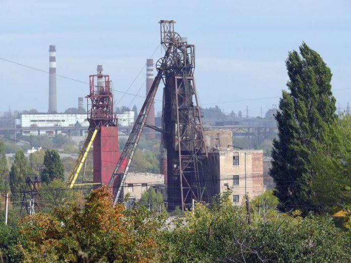 В Торезе возле шахты