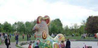 """Жители Краматорска просят благоустроить фонтан и водохранилище в парке """"Юбилейный"""""""