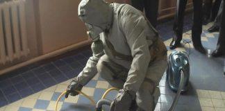 В Станично-Луганском районе на кухне жилого дома спасатели собирали ртуть