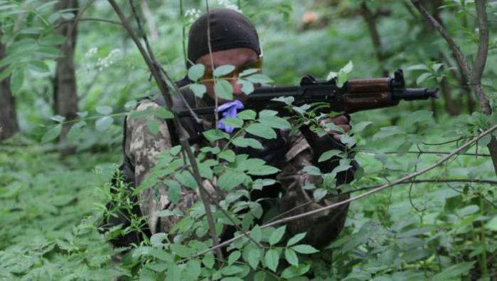 На западе Донецка на минах подорвались силовики диверсионно-разведывательной группы